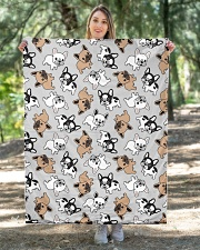 "Cute Frenchie  Quilt 40""x50"" - Baby aos-quilt-40x50-lifestyle-front-05"