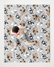 "Cute Frenchie  Quilt 40""x50"" - Baby aos-quilt-40x50-lifestyle-front-06"