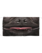 Black Frenchie Smile Face Mask Cloth face mask thumbnail