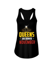 Queens Are Born In NOVEMBER Ladies Flowy Tank thumbnail