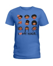 I Love My Hair Ladies T-Shirt front