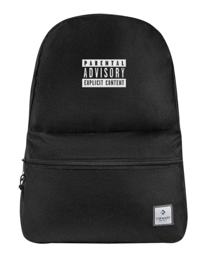 Parental Advisory Back Pack