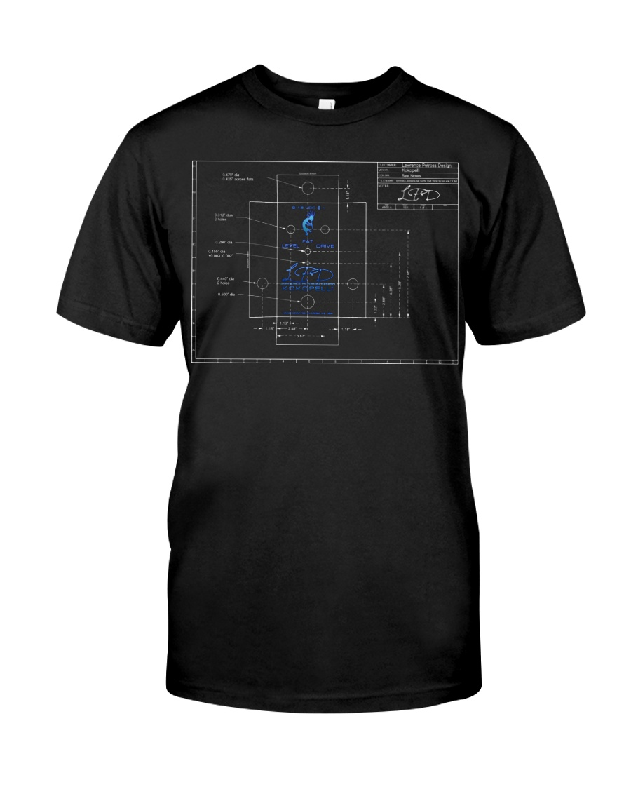 LPD Kokopelli Layout Dark Classic T-Shirt