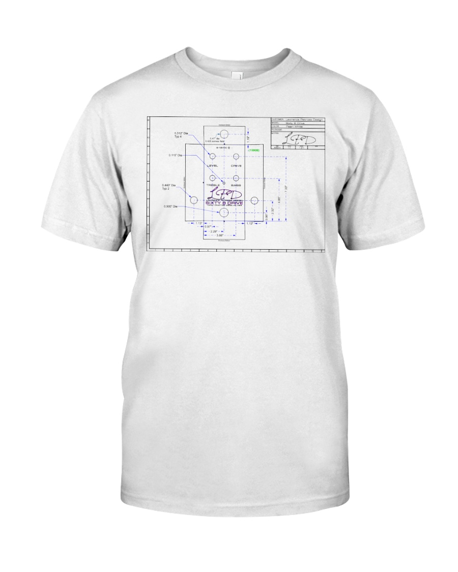LPD Sixty 8 Drive Layout Classic T-Shirt
