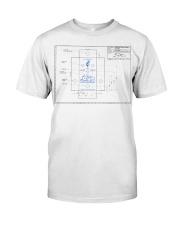 LPD Kokopelli Layout Classic T-Shirt front