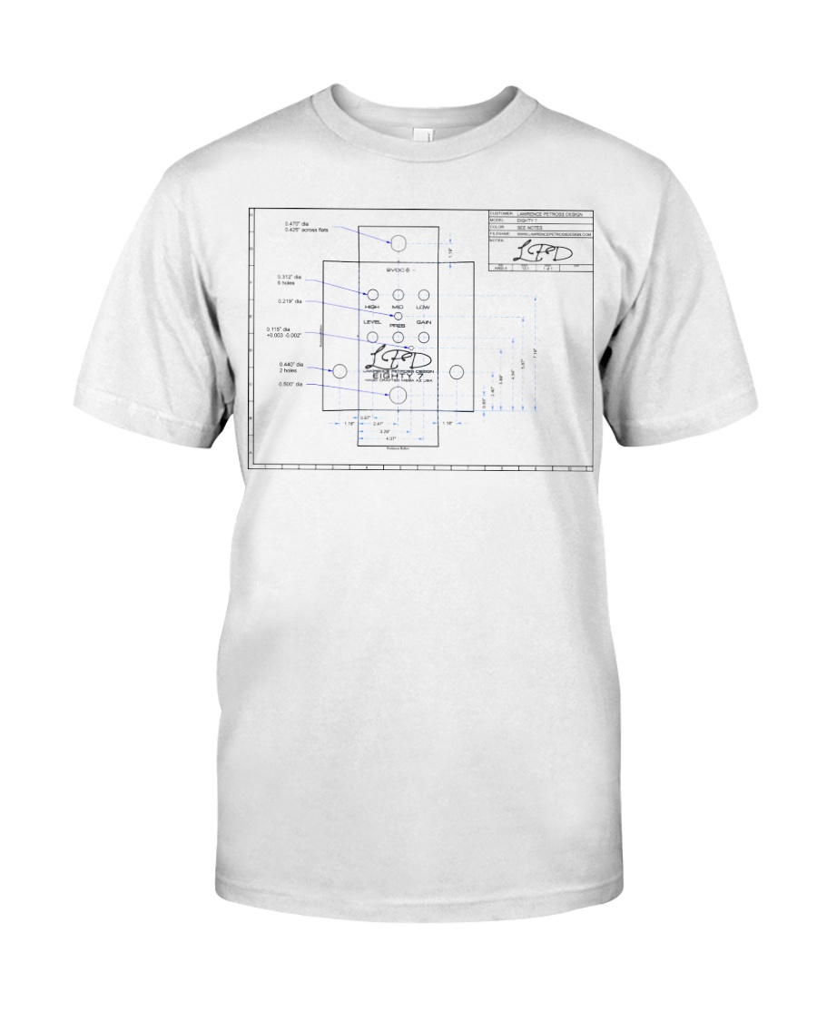 LPD Eighty 7 Layout Classic T-Shirt