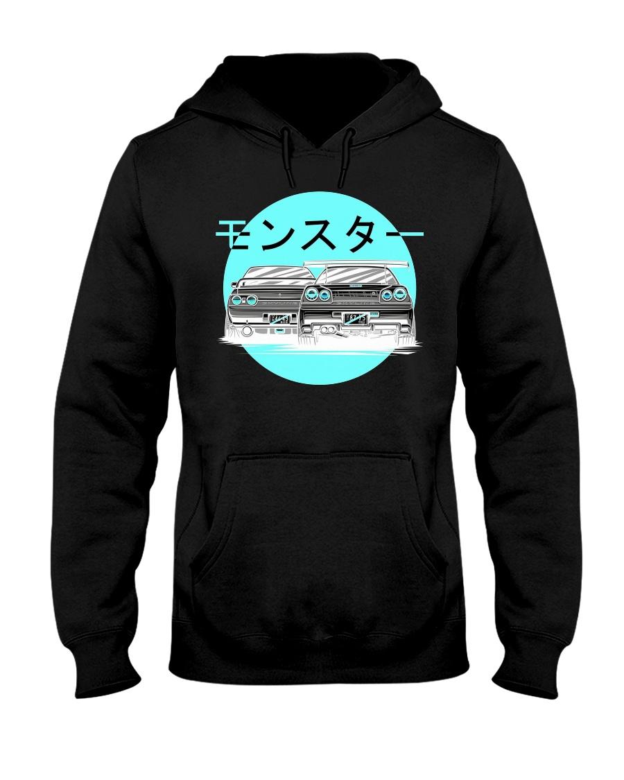 Nissan Skyline R34 Hooded Sweatshirt