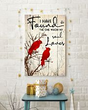 Bird I have found the one whom my soul loves 16x24 Poster lifestyle-holiday-poster-3