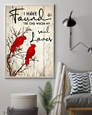 Bird I have found the one whom my soul loves 16x24 Poster lifestyle-poster-1
