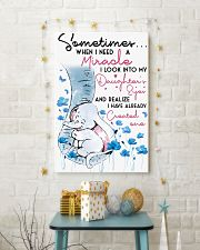 Elephant Sometimes When I Need A Miracle 16x24 Poster lifestyle-holiday-poster-3