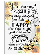 Baby elephant You are my sunshine my only sunshine 11x17 Poster front