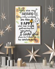 Baby elephant You are my sunshine my only sunshine 11x17 Poster lifestyle-holiday-poster-1