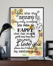 Baby elephant You are my sunshine my only sunshine 11x17 Poster lifestyle-poster-2