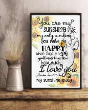 Baby elephant You are my sunshine my only sunshine 11x17 Poster lifestyle-poster-3