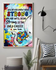 Elephant You Never Know How Strong  Autism 16x24 Poster lifestyle-poster-1