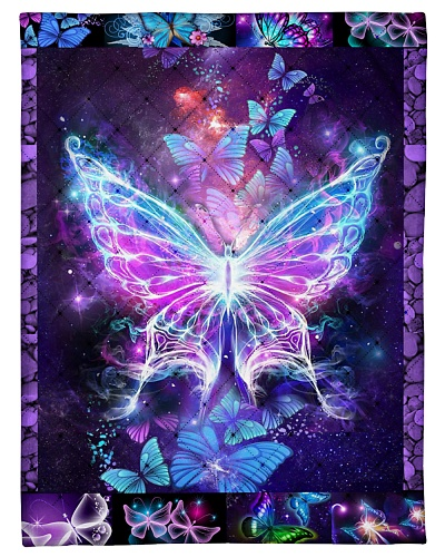 Butterfly Beautiful Heaven Blanket Gift for family