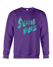 Supple Boiz Logo Tee Crewneck Sweatshirt thumbnail