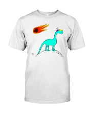 Supplesaurus A Hill to Die On Tee Classic T-Shirt front