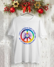I Got A Peaceful Easy Feeling  Classic T-Shirt lifestyle-holiday-crewneck-front-2