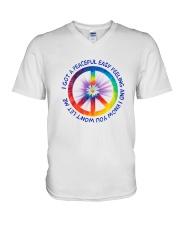 I Got A Peaceful Easy Feeling  V-Neck T-Shirt thumbnail