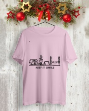 Keep It Simple Classic T-Shirt lifestyle-holiday-crewneck-front-2