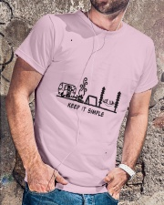 Keep It Simple Classic T-Shirt lifestyle-mens-crewneck-front-4