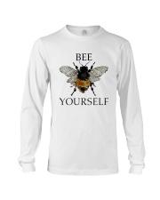 Bee Yourself Long Sleeve Tee front