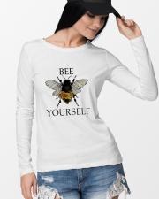 Bee Yourself Long Sleeve Tee lifestyle-unisex-longsleeve-front-4