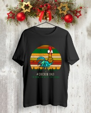 Chicken Dad Classic T-Shirt lifestyle-holiday-crewneck-front-2