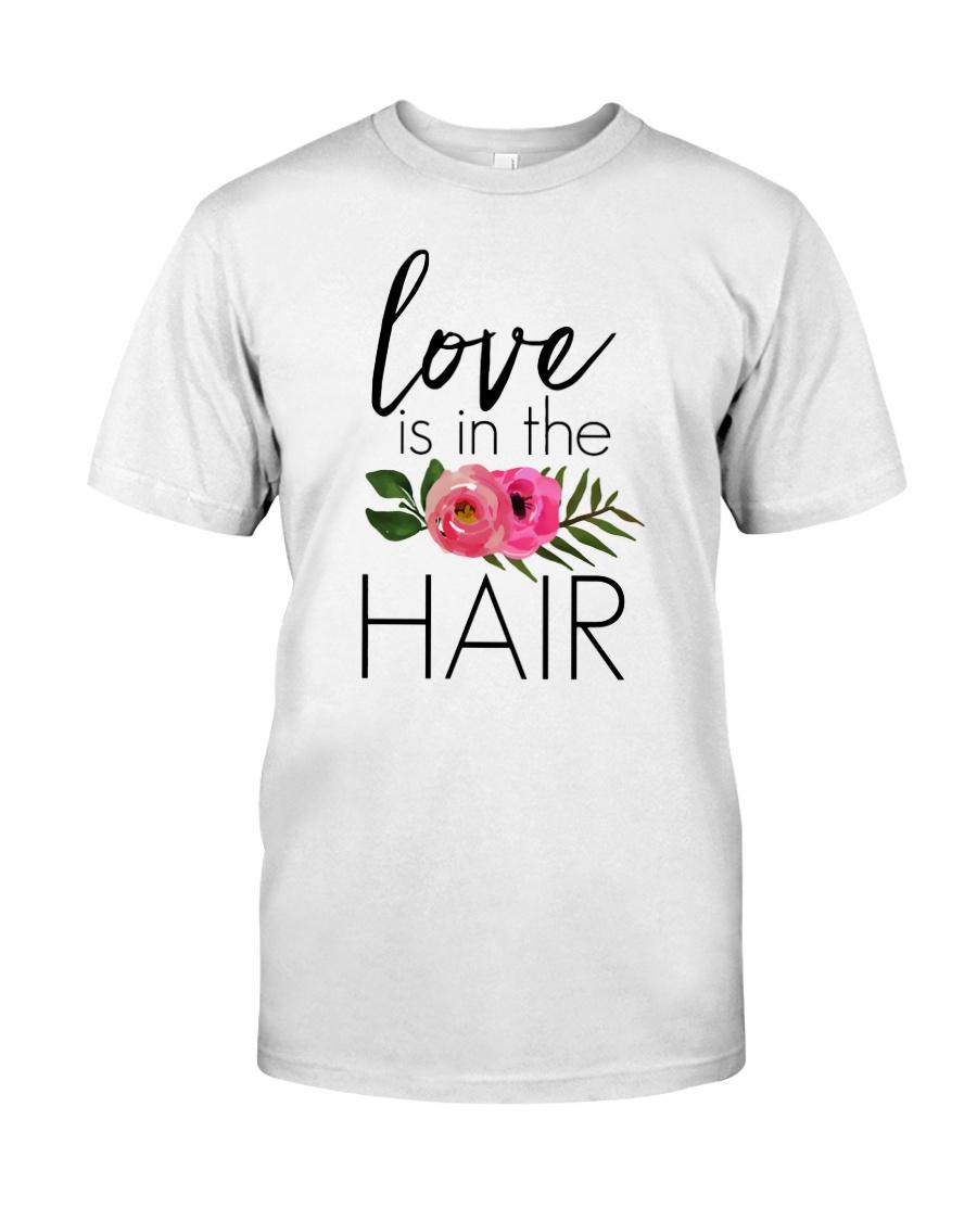 Love Is In The Hair Premium Fit Mens Tee