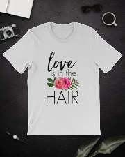 Love Is In The Hair Premium Fit Mens Tee lifestyle-mens-crewneck-front-16