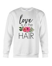 Love Is In The Hair Crewneck Sweatshirt thumbnail