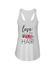 Love Is In The Hair Ladies Flowy Tank thumbnail