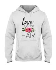 Love Is In The Hair Hooded Sweatshirt thumbnail