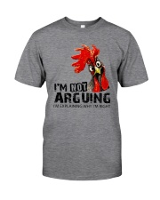 FM D2202191 I Am Not Arguing Classic T-Shirt thumbnail