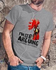 FM D2202191 I Am Not Arguing Classic T-Shirt lifestyle-mens-crewneck-front-4