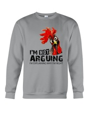 FM D2202191 I Am Not Arguing Crewneck Sweatshirt thumbnail