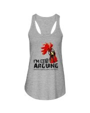 FM D2202191 I Am Not Arguing Ladies Flowy Tank thumbnail