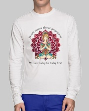 We Have Today Fix Today First Long Sleeve Tee lifestyle-unisex-longsleeve-front-1