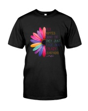 Old Hippies dont die  Premium Fit Mens Tee front