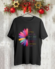 Old Hippies dont die  Premium Fit Mens Tee lifestyle-holiday-crewneck-front-2