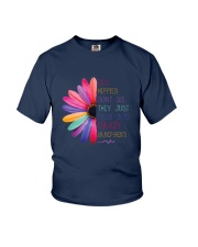 Old Hippies dont die  Youth T-Shirt thumbnail