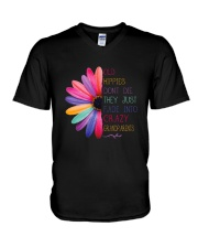 Old Hippies dont die  V-Neck T-Shirt thumbnail