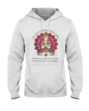 Let Go And See What Happens Hooded Sweatshirt thumbnail
