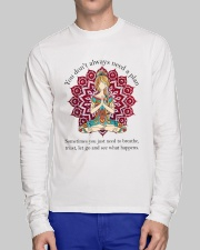 Let Go And See What Happens Long Sleeve Tee lifestyle-unisex-longsleeve-front-1