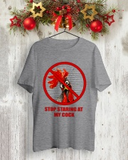 Stop Staring At My Cock  Classic T-Shirt lifestyle-holiday-crewneck-front-2