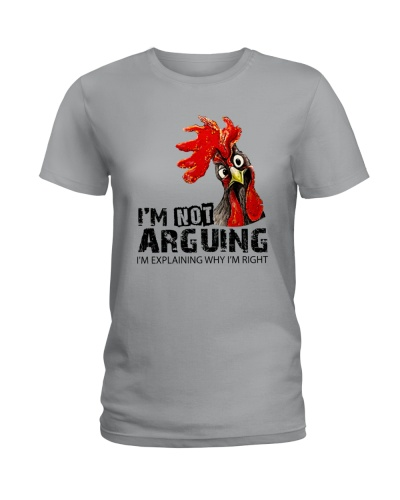 I Am Not Arguing