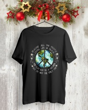 All The People Living In Peace Premium Fit Mens Tee lifestyle-holiday-crewneck-front-2