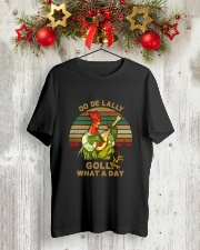Golly What A Day Classic T-Shirt lifestyle-holiday-crewneck-front-2