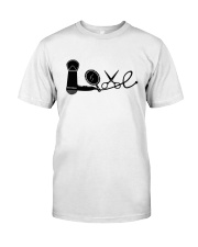 Love Hairstylist Premium Fit Mens Tee front